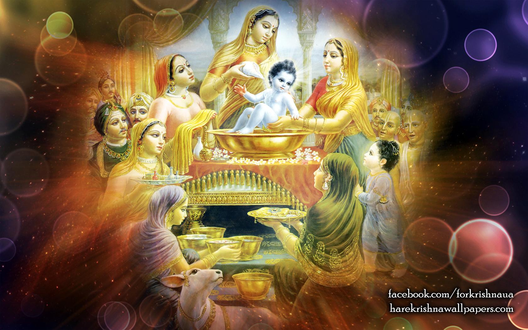 Krishna Wallpaper (035) Size 1680x1050 Download