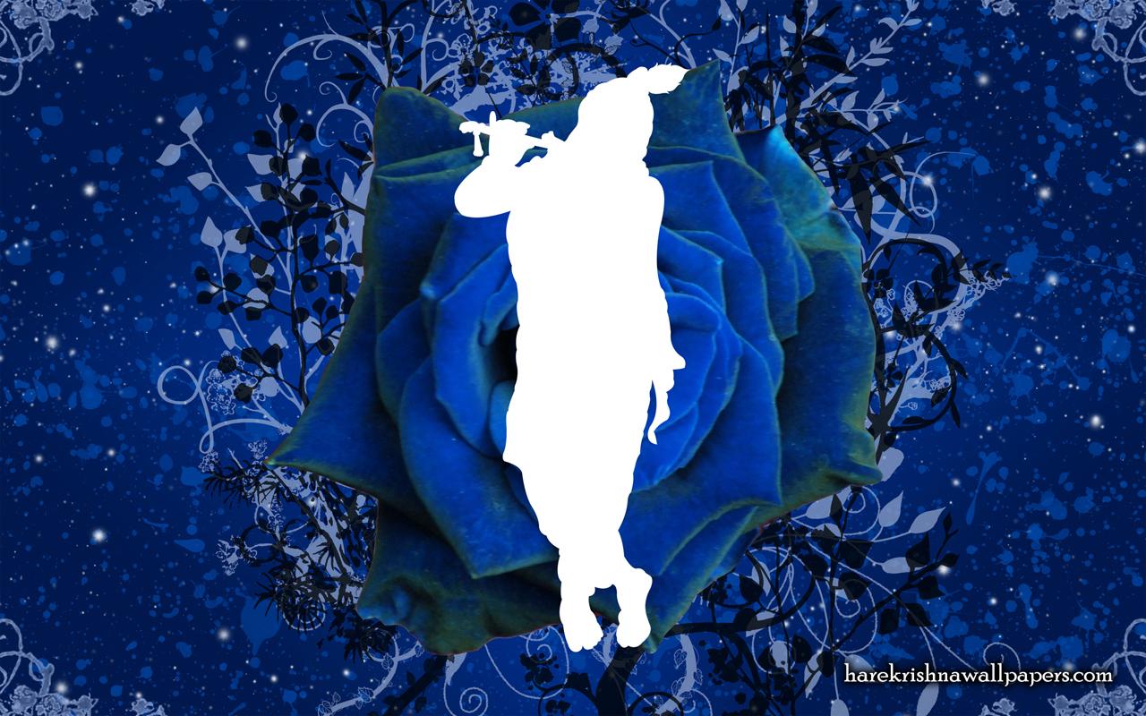 Blue Krishna Wallpaper (001) Size 1280x800 Download
