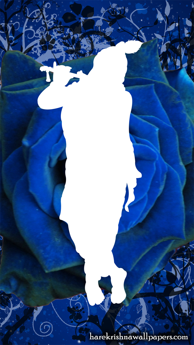 Blue Krishna Wallpaper (001) Size 675x1200 Download