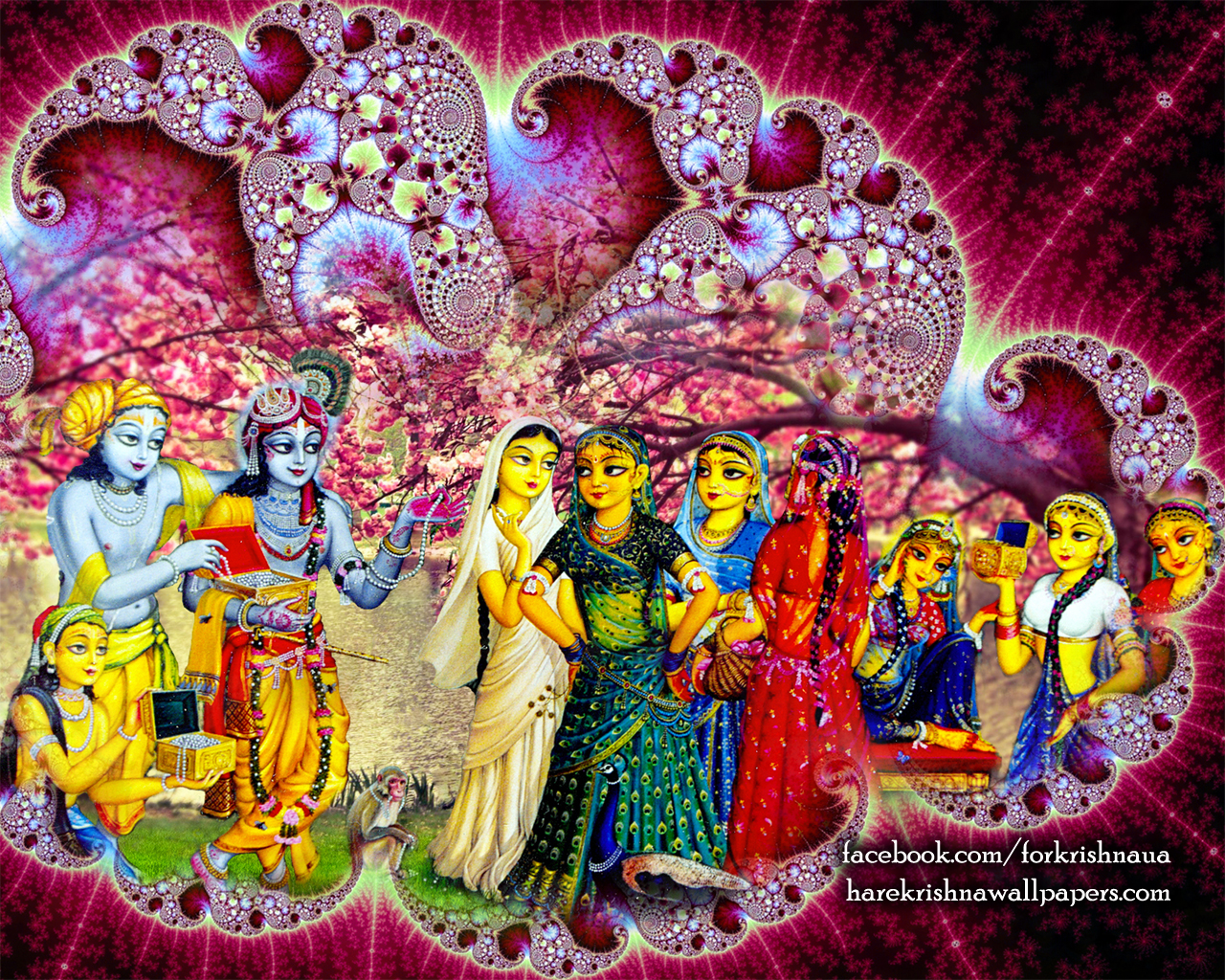 Krishna Balaram Wallpaper (001) Size 1280x1024 Download