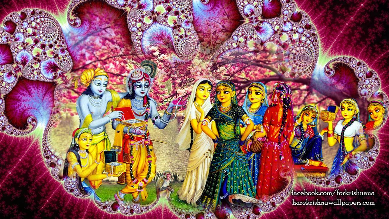 Krishna Balaram Wallpaper (001) Size1280x720 Download