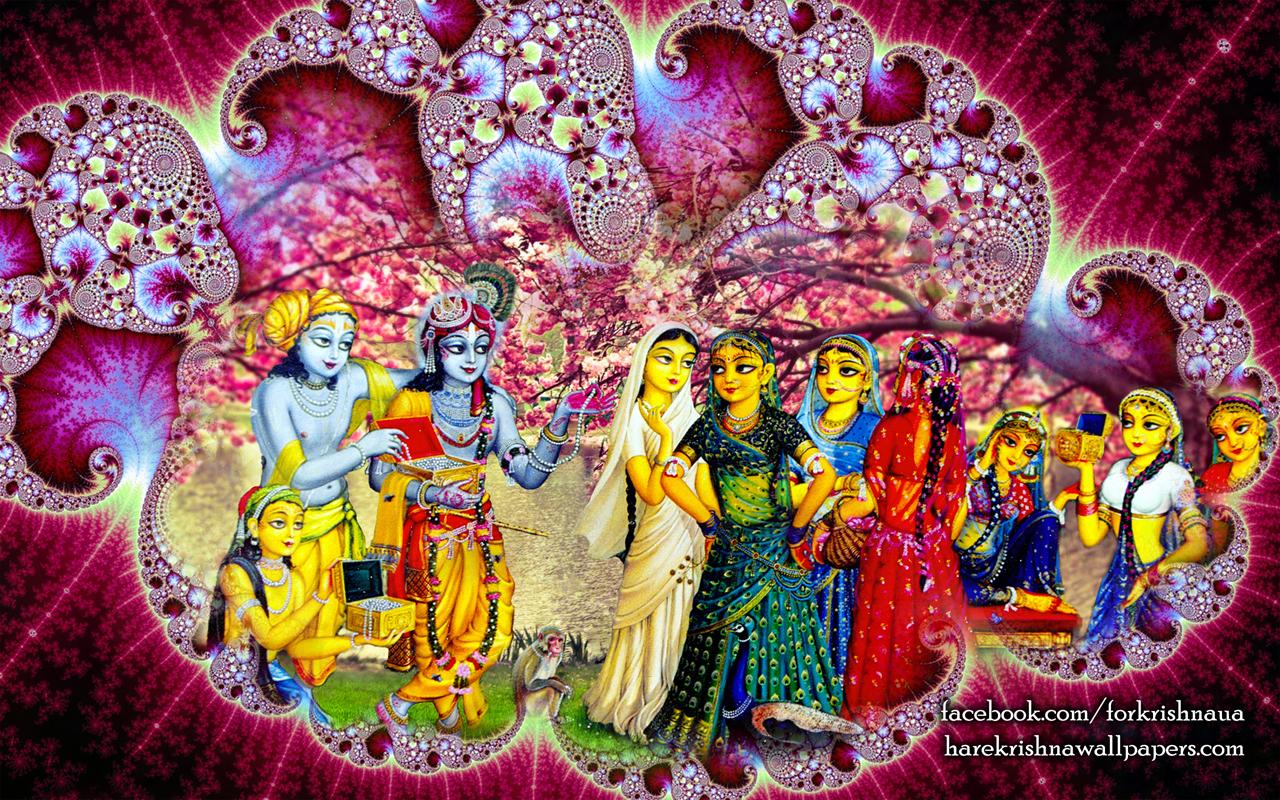 Krishna Balaram Wallpaper (001) Size 1280x800 Download