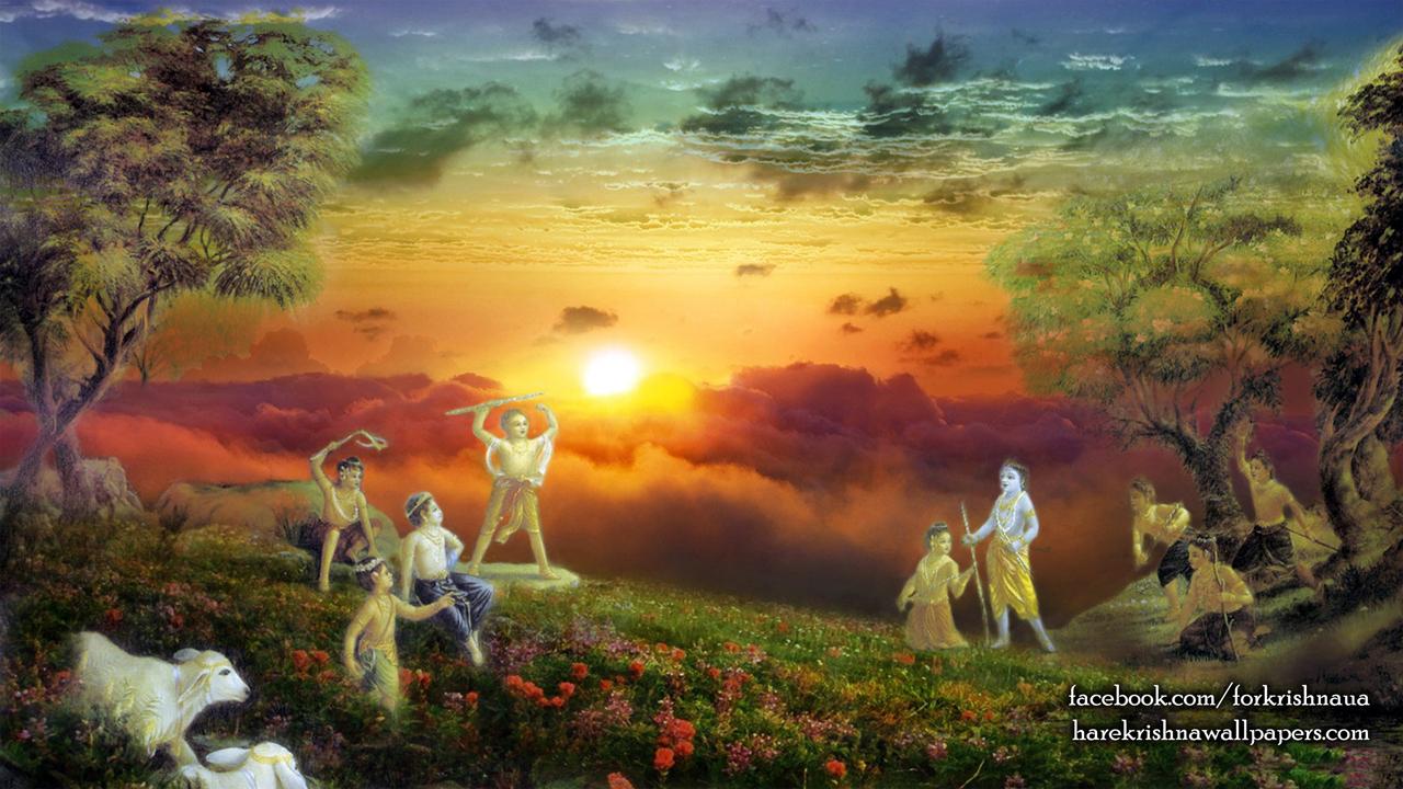 Krishna Balaram Wallpaper (002) Size1280x720 Download