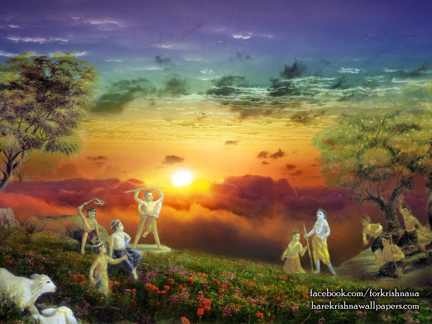 Krishna Balaram Wallpaper (002) Size 1400x1050 Download