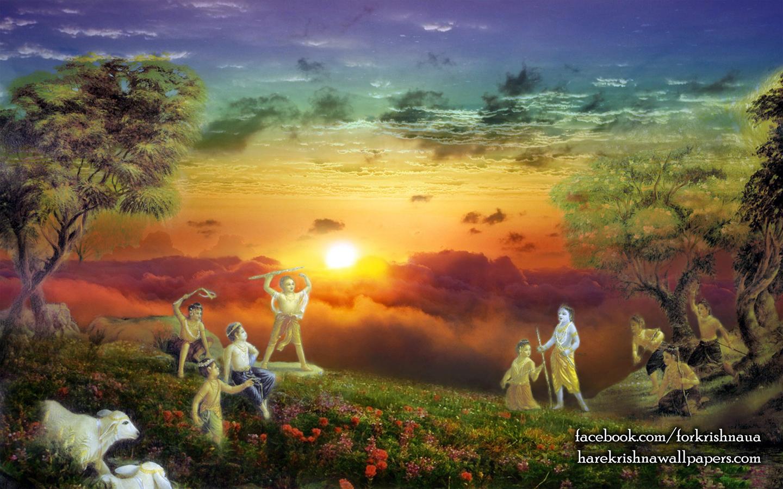 Krishna Balaram Wallpaper (002) Size 1440x900 Download