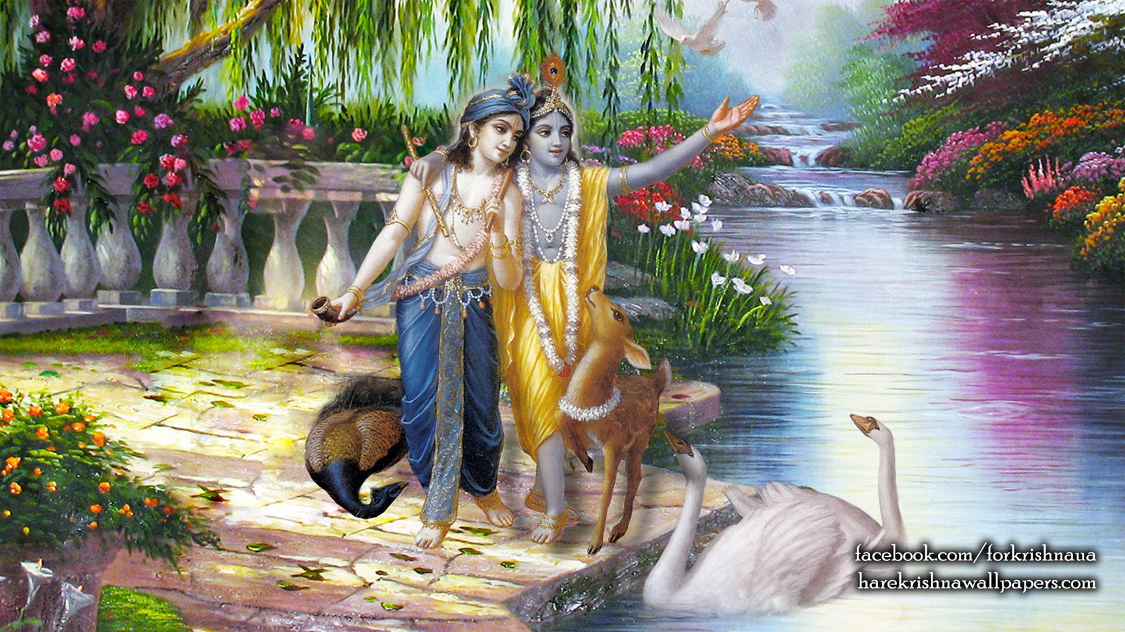Krishna Balaram Wallpaper (003) Size 1600x900 Download