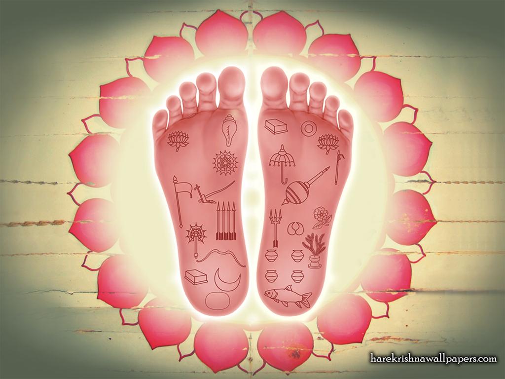 Sri Nityananda Lotus Feet Wallpaper (001) Size 1024x768 Download