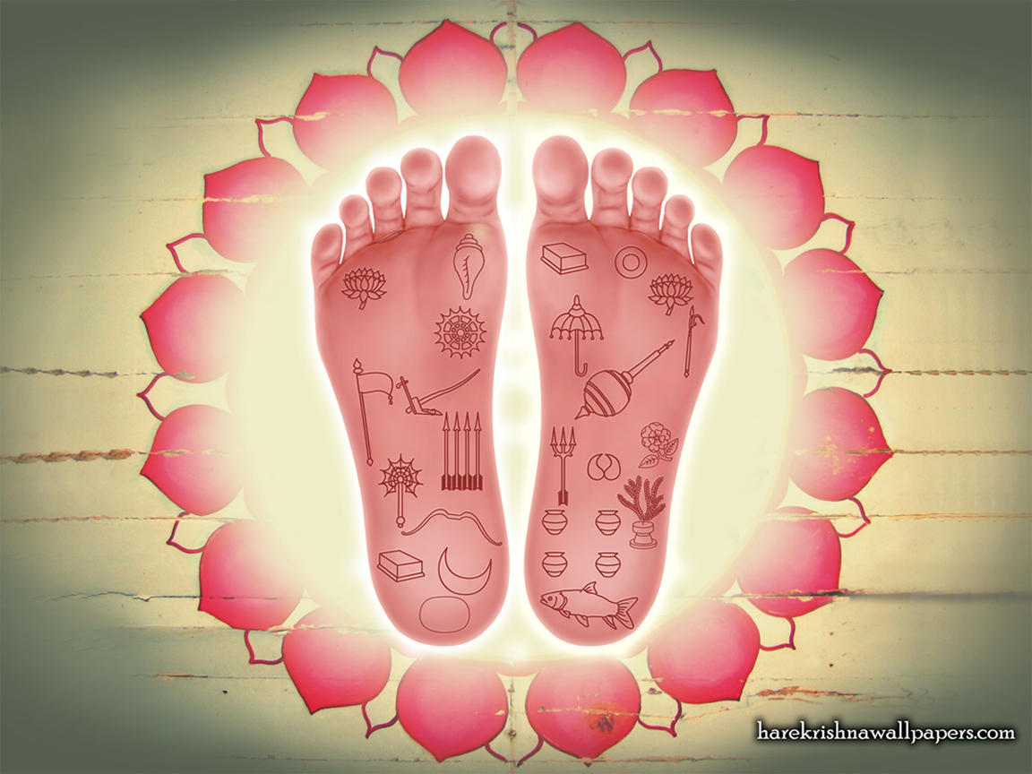 Sri Nityananda Lotus Feet Wallpaper (001) Size 1152x864 Download