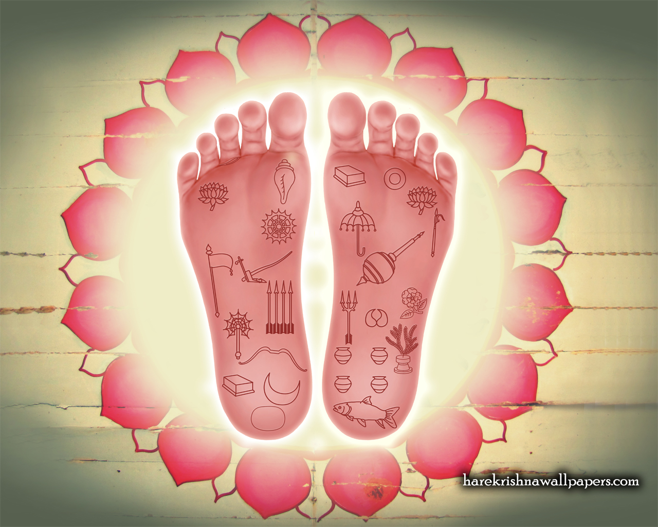 Sri Nityananda Lotus Feet Wallpaper (001) Size 1280x1024 Download