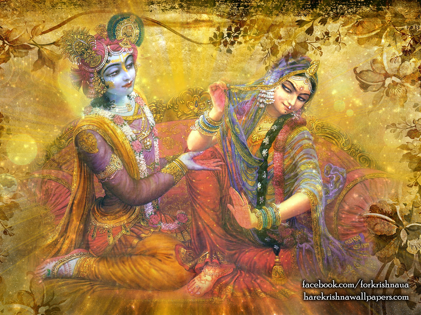 Radha Krishna Wallpaper (002) Size 1400x1050 Download