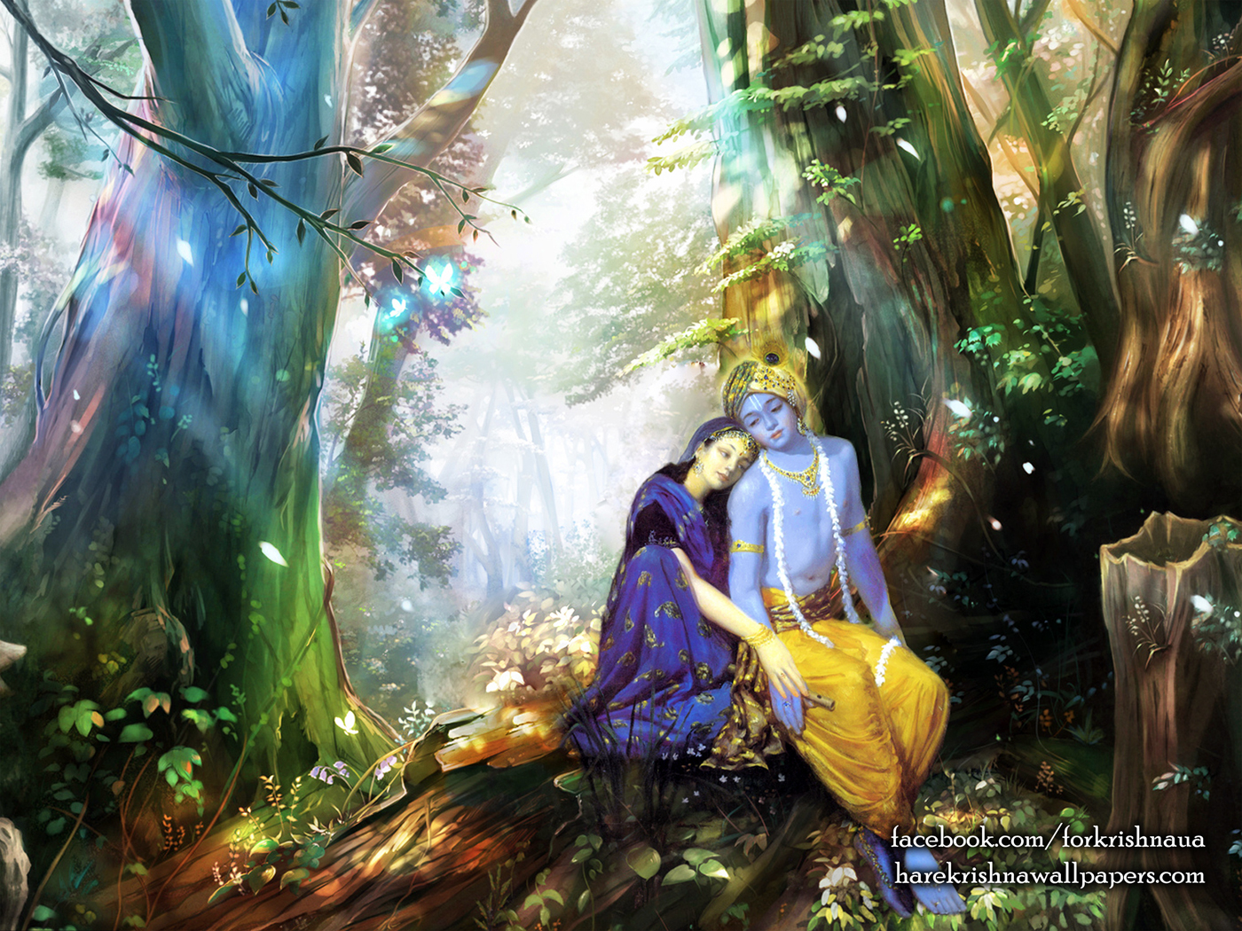Radha Krishna Wallpaper (004) Size 1400x1050 Download
