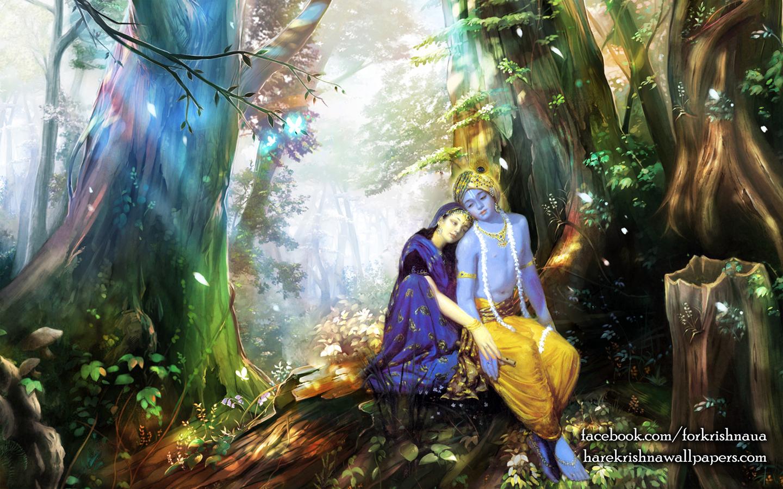 Radha Krishna Wallpaper (004) Size 1440x900 Download
