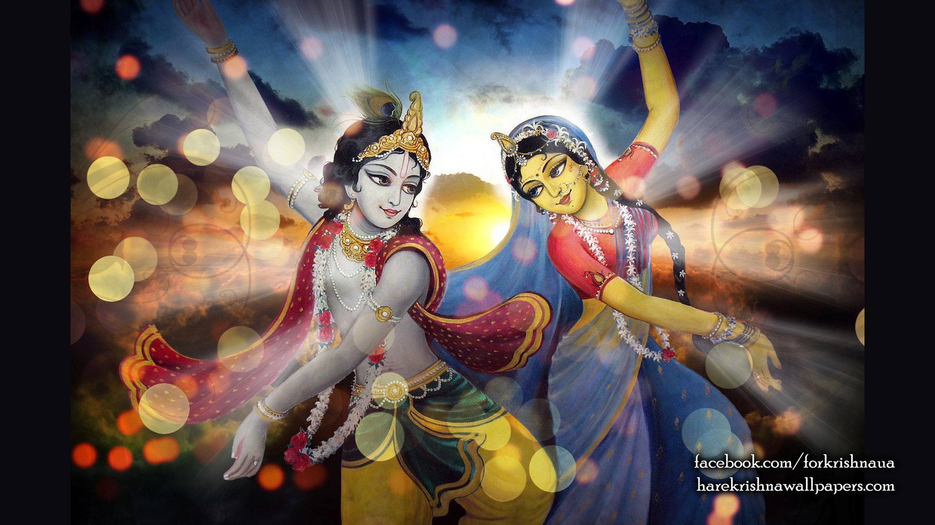 Radha Krishna Wallpaper (005) Size 1920x1080 Download