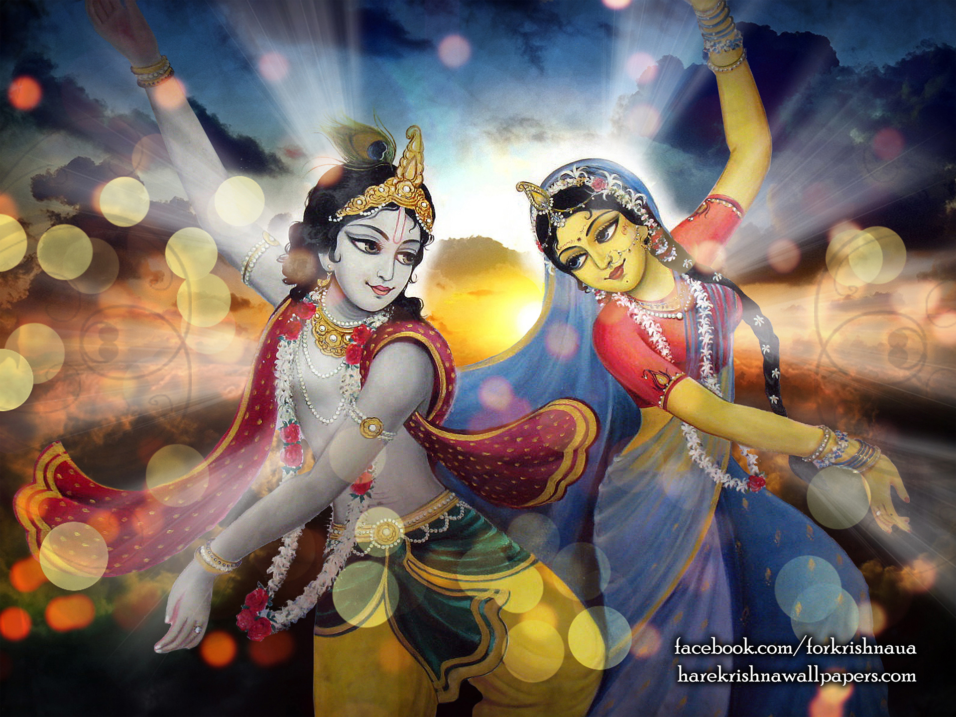 Radha Krishna Wallpaper (005) Size 1920x1440 Download