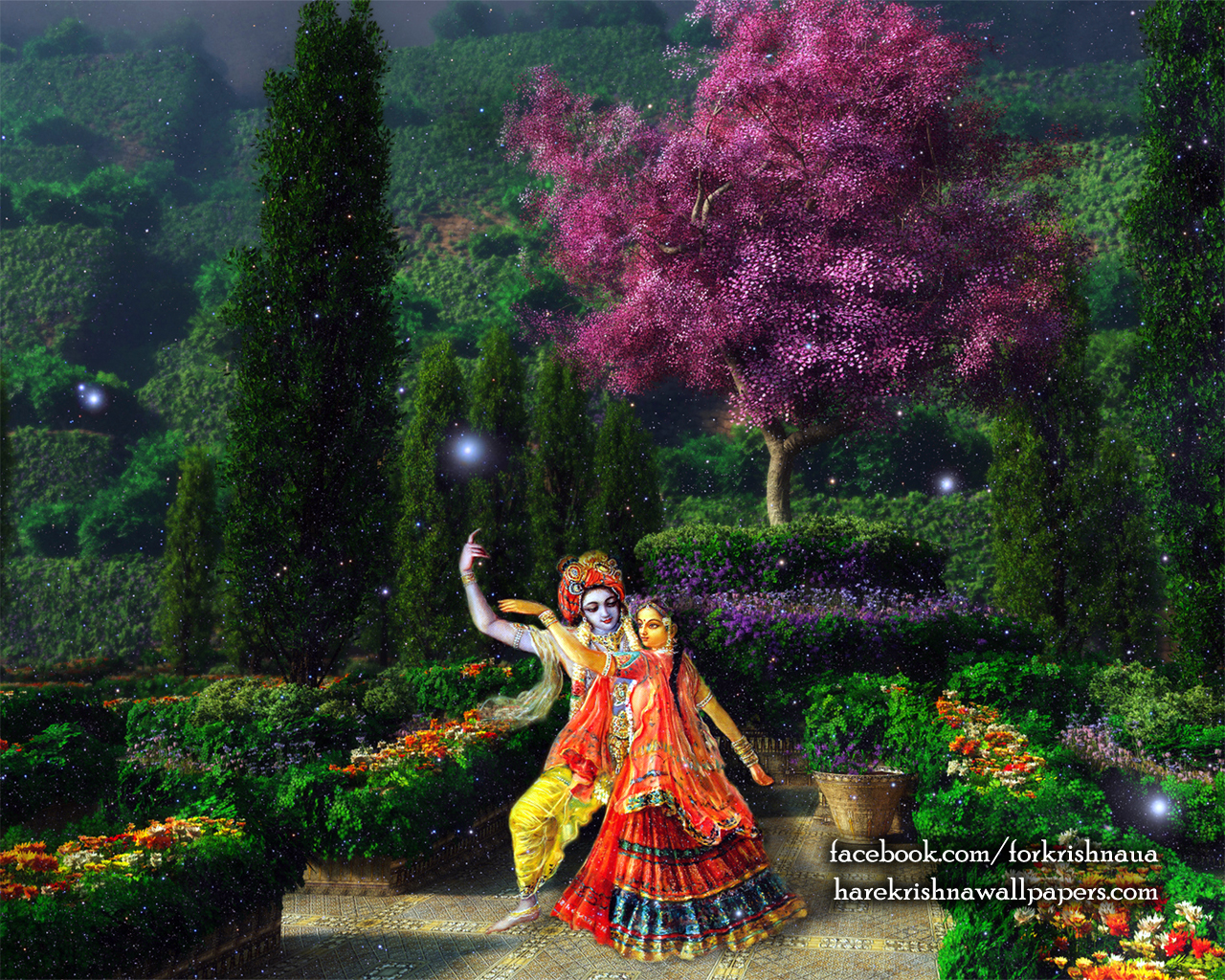 Radha Krishna Wallpaper (006) Size 1280x1024 Download