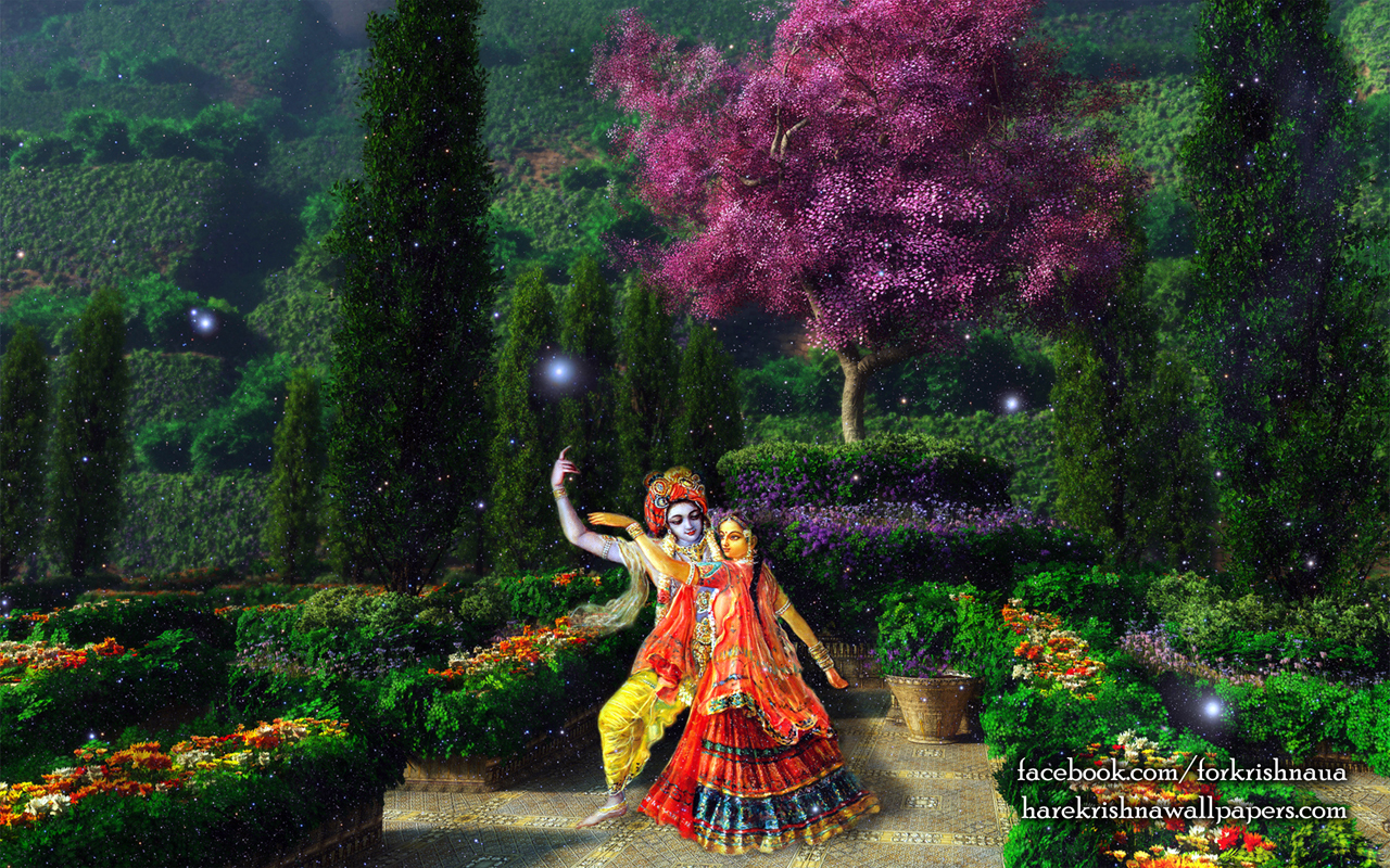 Radha Krishna Wallpaper (006) Size 1280x800 Download
