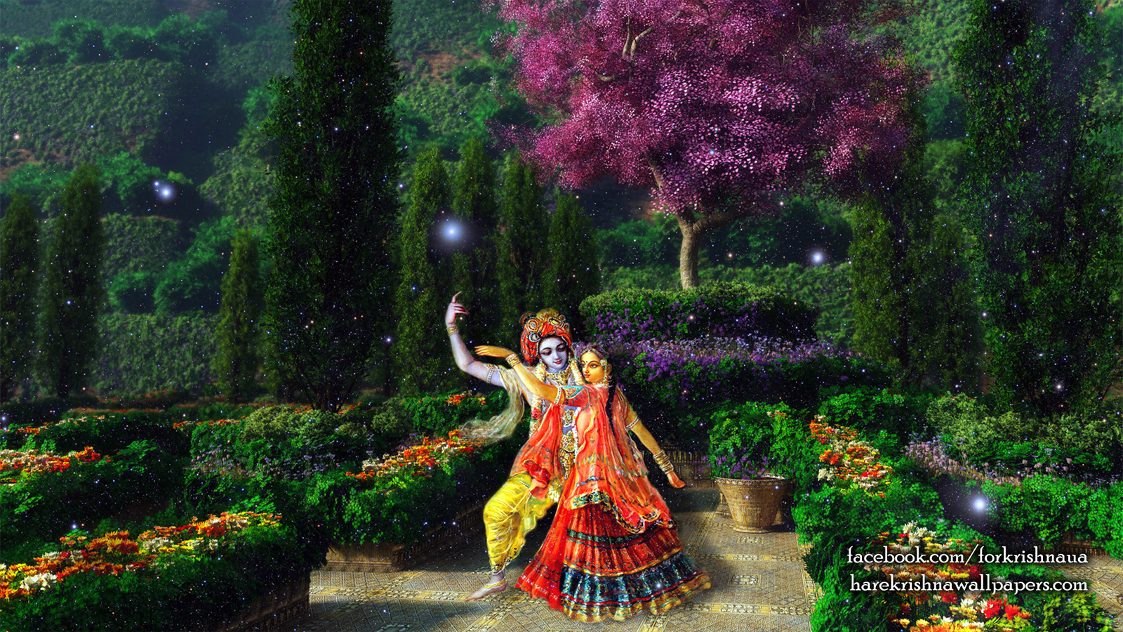 Radha Krishna Wallpaper (006) Size 1600x900 Download