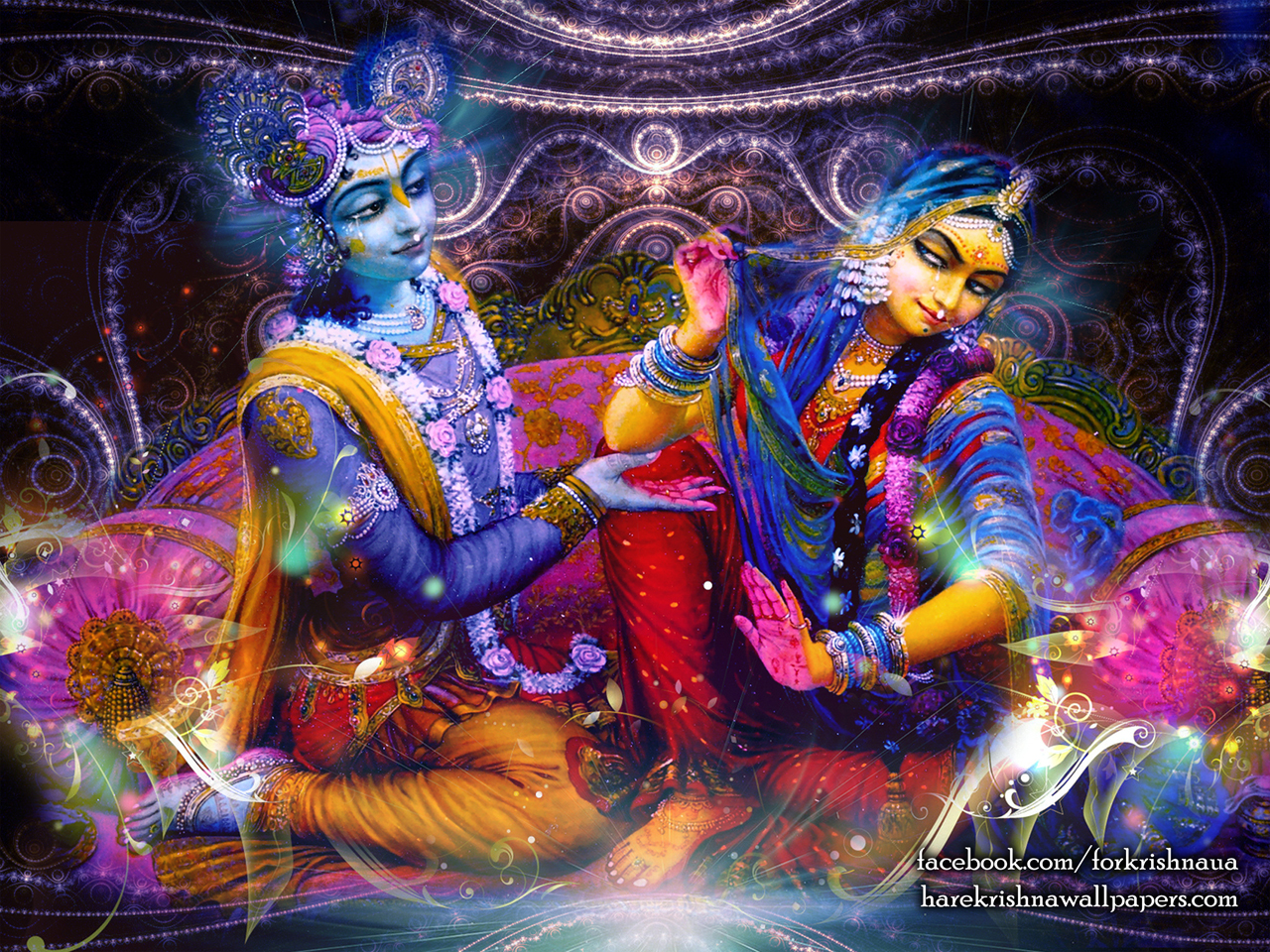 Radha Krishna Wallpaper (007) Size 1280x960 Download