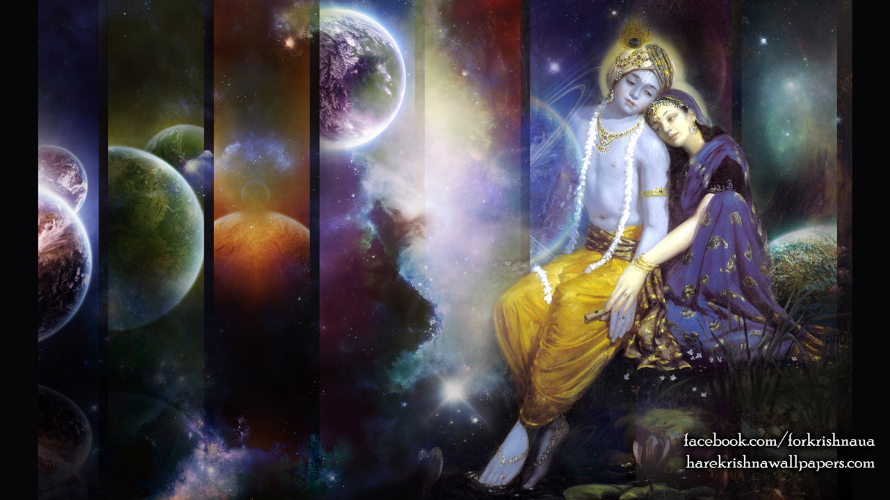 Radha Krishna Wallpaper (009) Size1280x720 Download