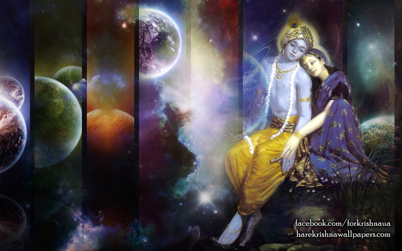 Radha Krishna Wallpaper (009) Size 1280x800 Download