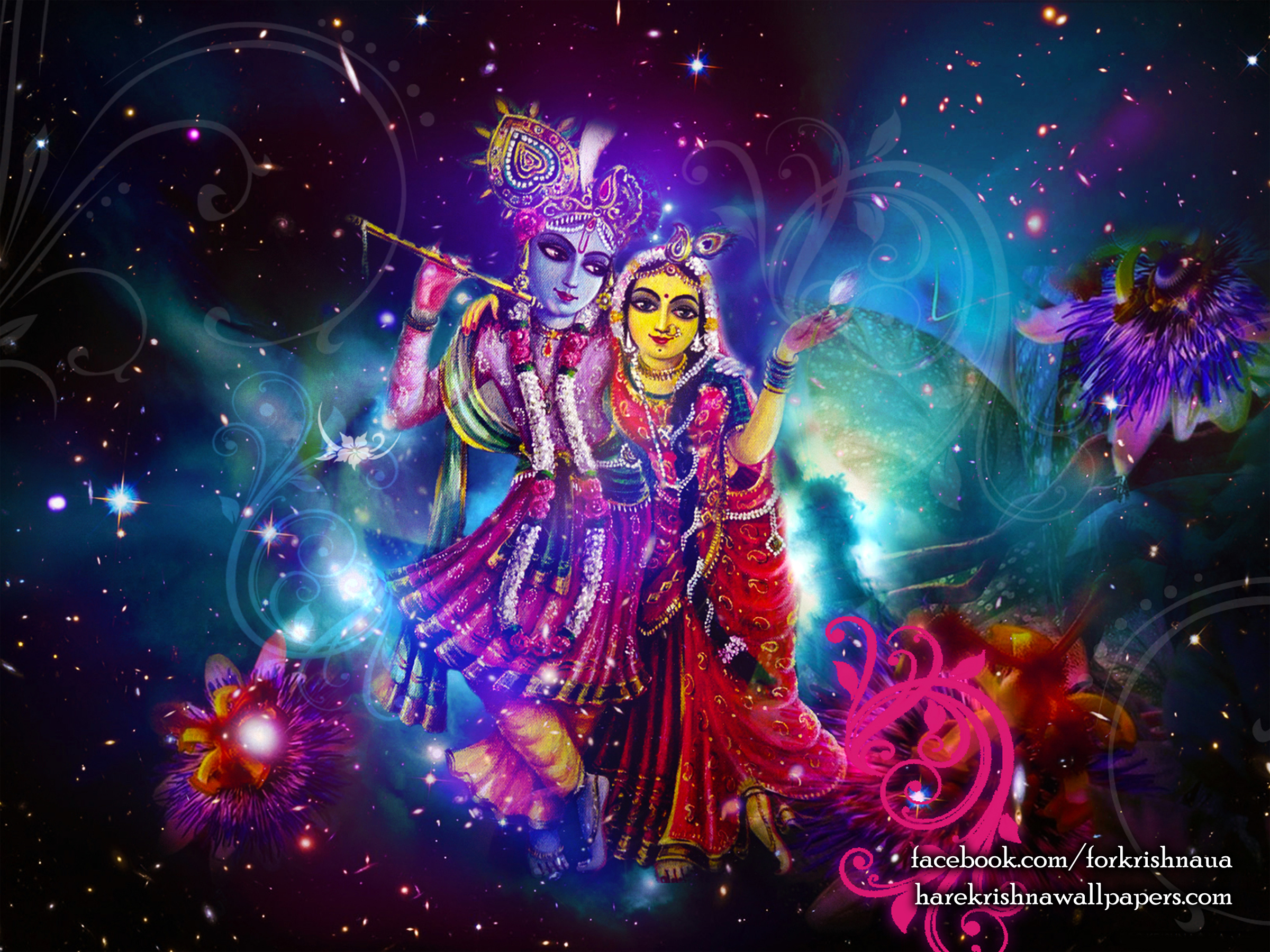 Radha Krishna Wallpaper (010) Size 2400x1800 Download