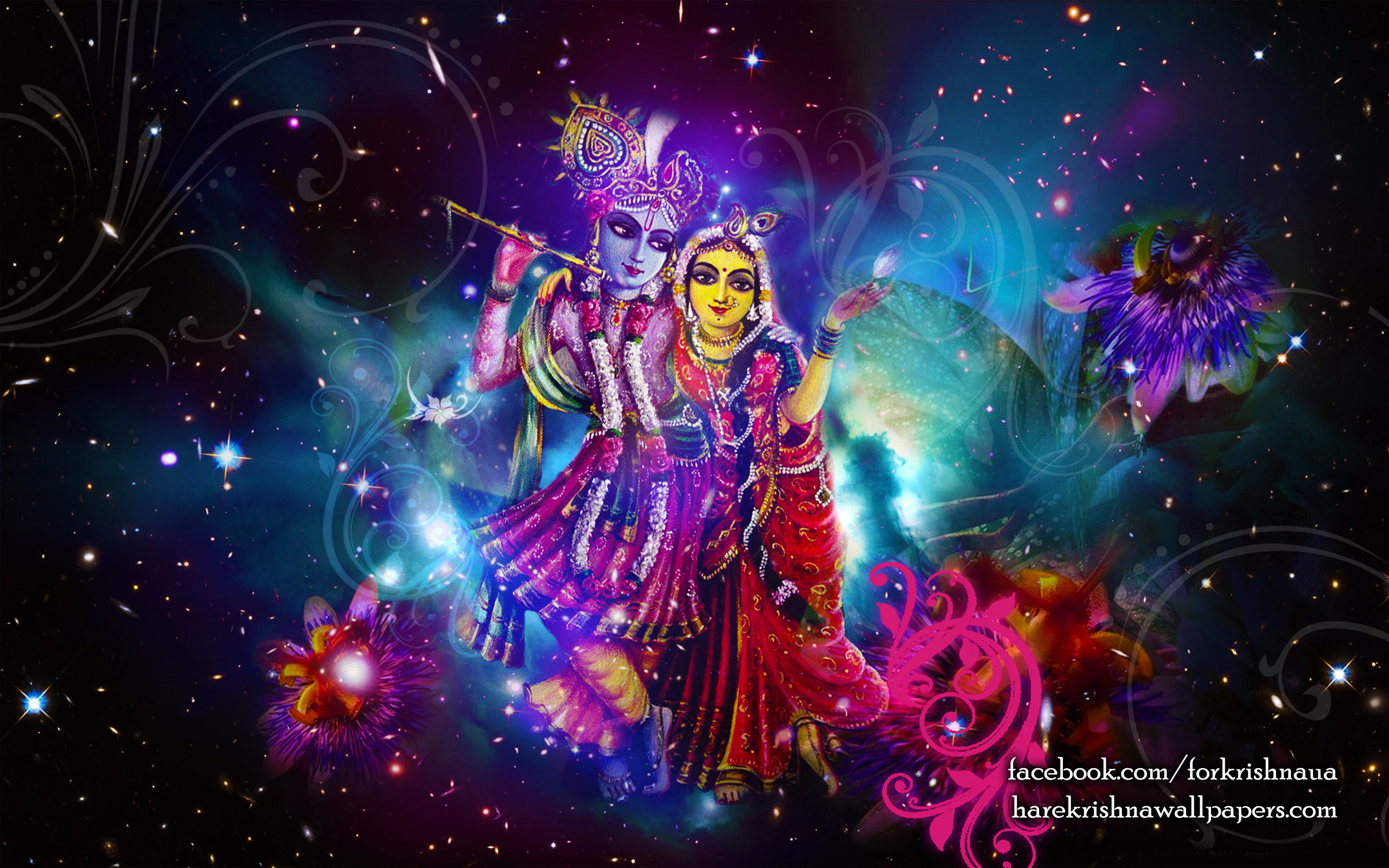 Radha Krishna Wallpaper (010) Size 2560x1600 Download