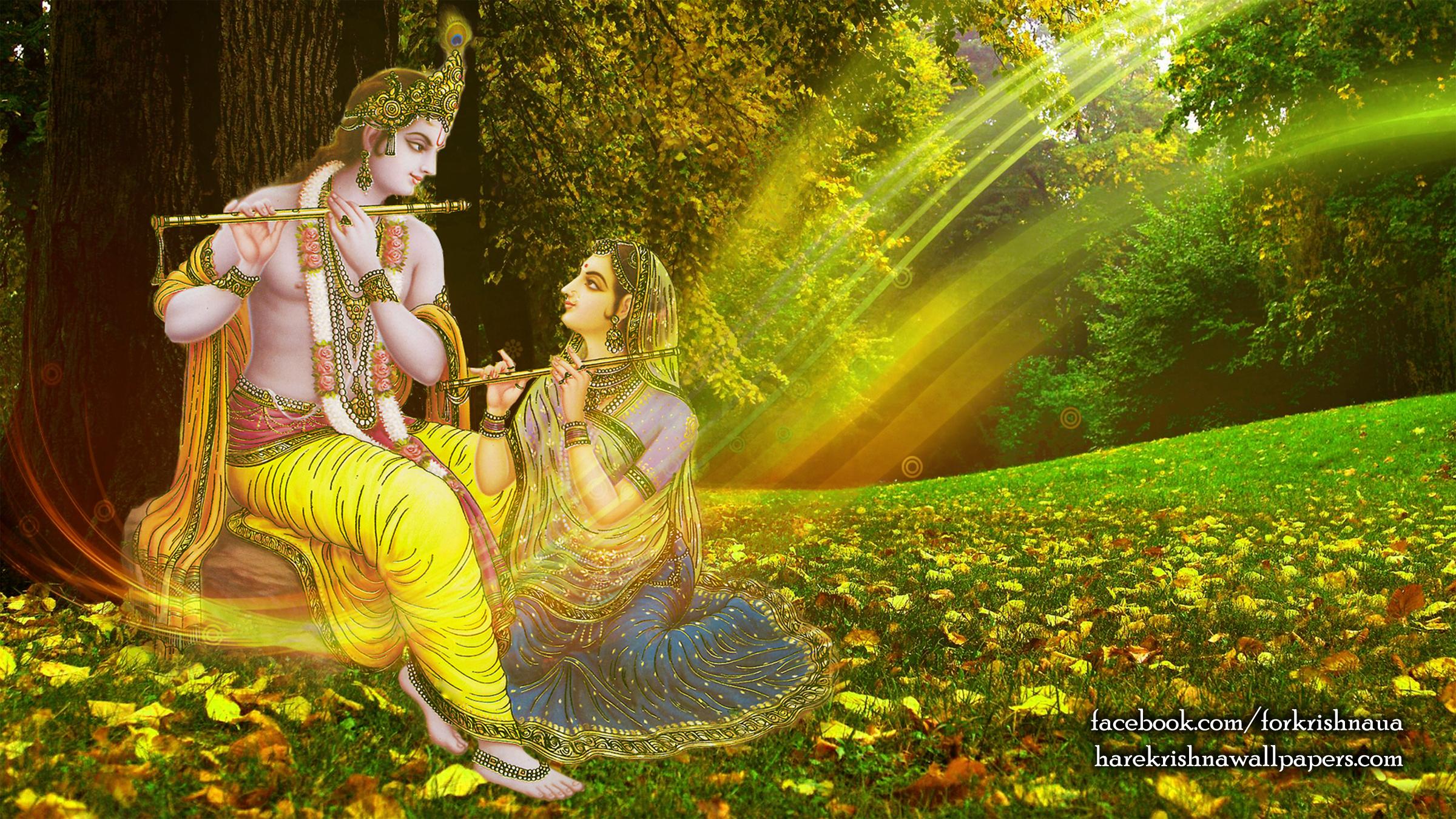 Radha Krishna Wallpaper (012) Size 2400x1350 Download