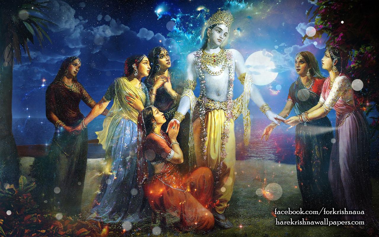 Radha Krishna Wallpaper (018) Size 1280x800 Download