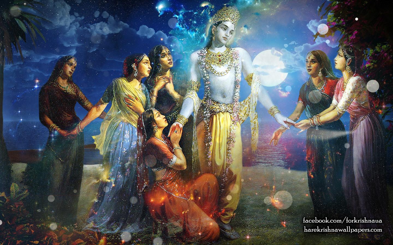 Radha Krishna Wallpaper (018) Size 1440x900 Download