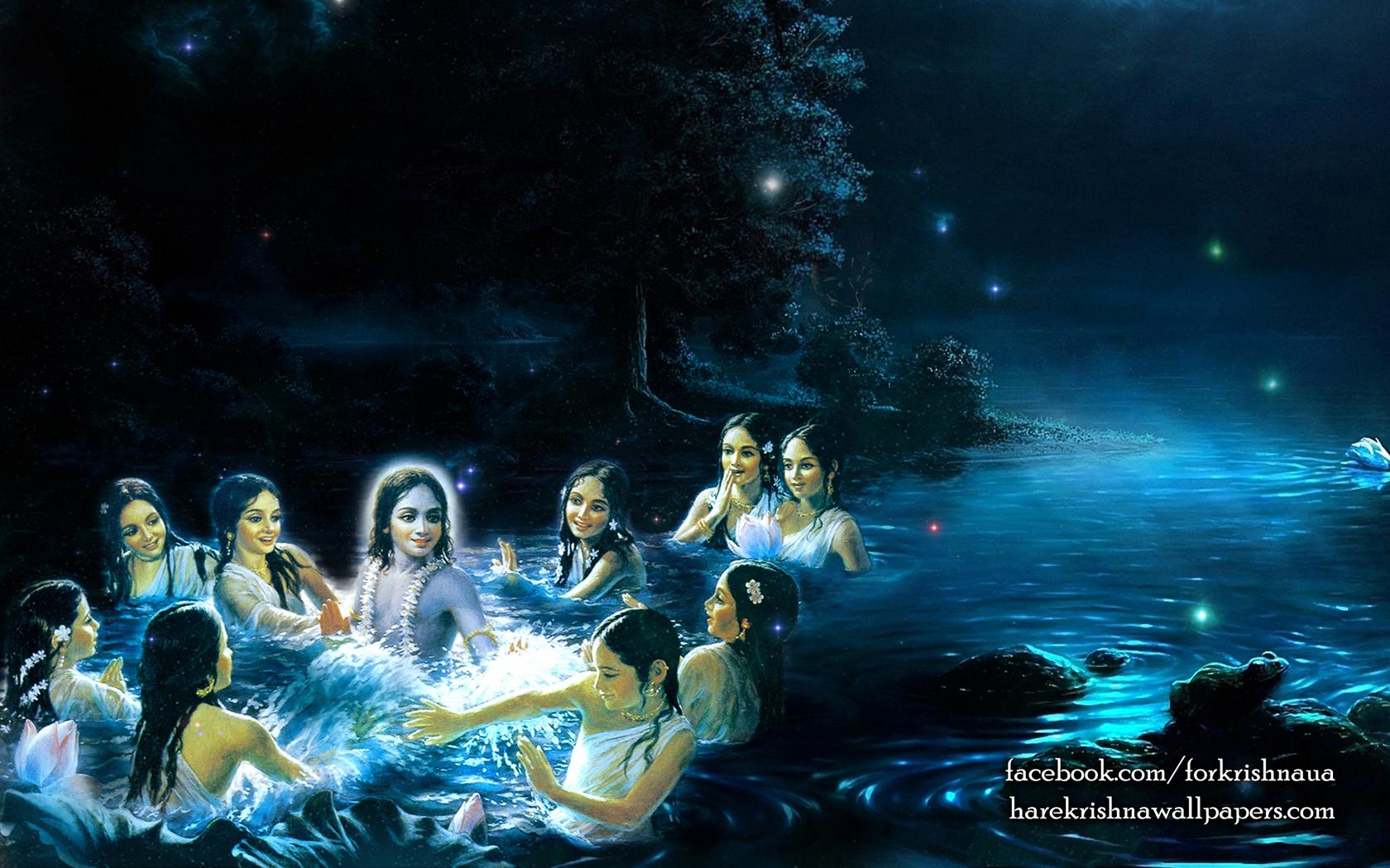 Radha Krishna Wallpaper (019) Size 1680x1050 Download