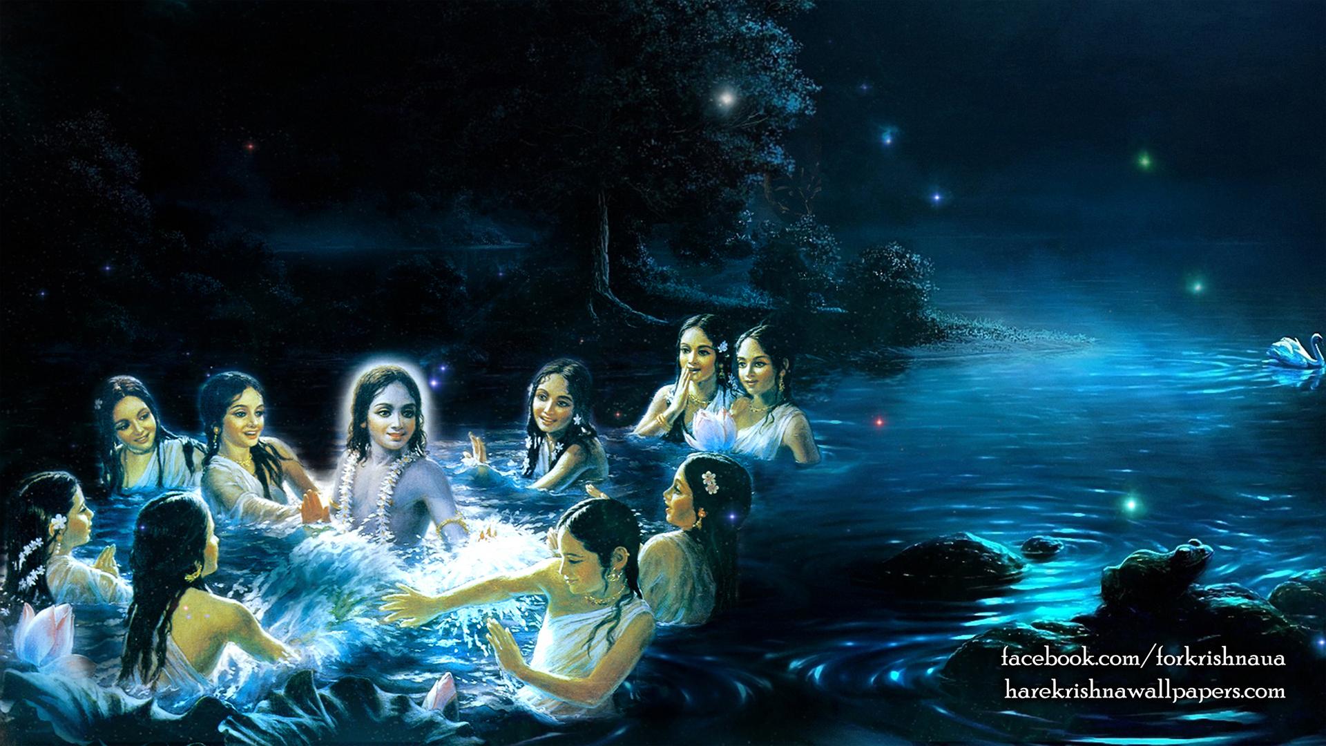Radha Krishna Wallpaper (019) Size 1920x1080 Download