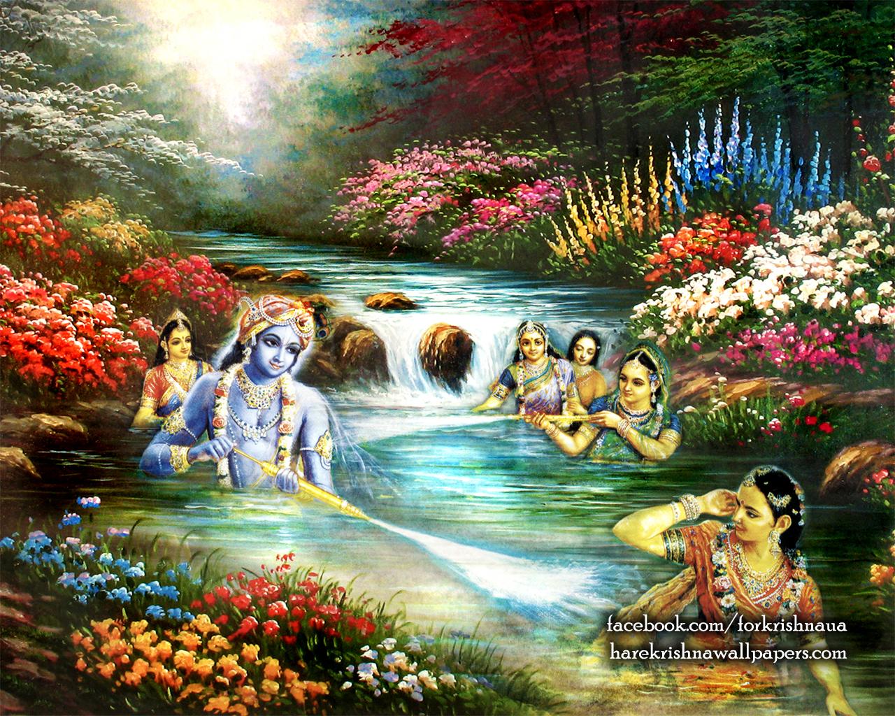 Radha Krishna Wallpaper (020) Size 1280x1024 Download