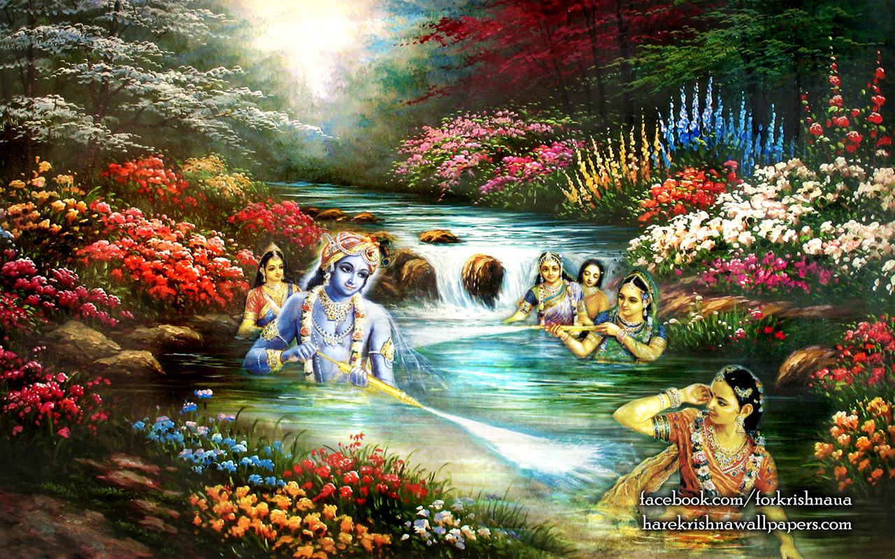 Radha Krishna Wallpaper (020) Size 1280x800 Download