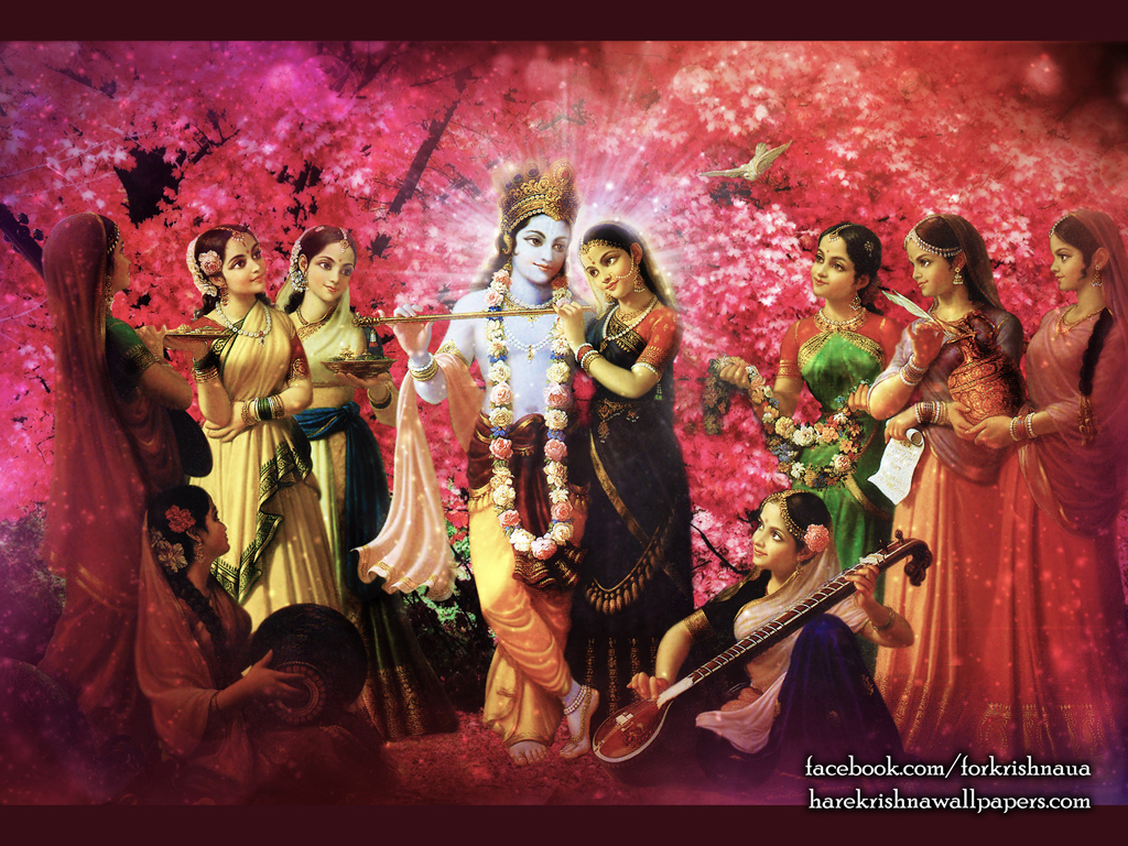Radha Krishna Wallpaper (021) Size 1024x768 Download