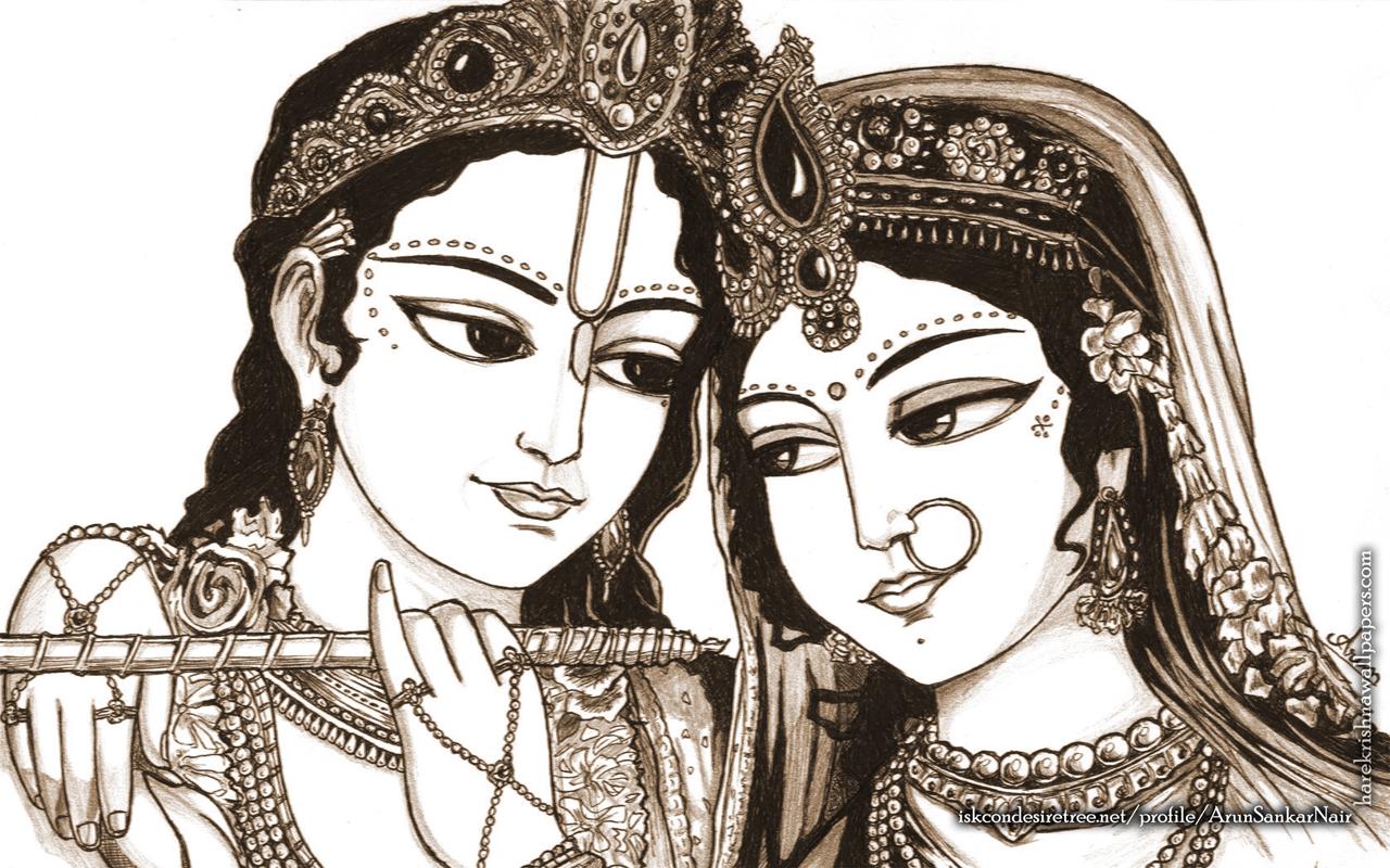 Radha Krishna Wallpaper (022) Size 1280x800 Download