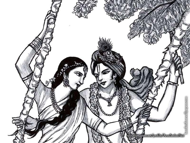Radha Krishna Wallpaper (023)