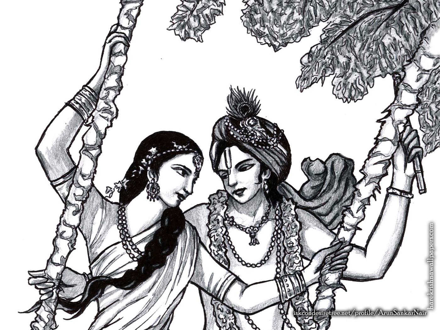 Radha Krishna Wallpaper (023) Size 1400x1050 Download