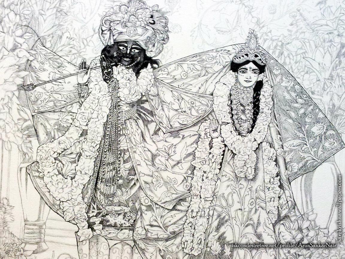 Radha Krishna Wallpaper (024) Size 1152x864 Download