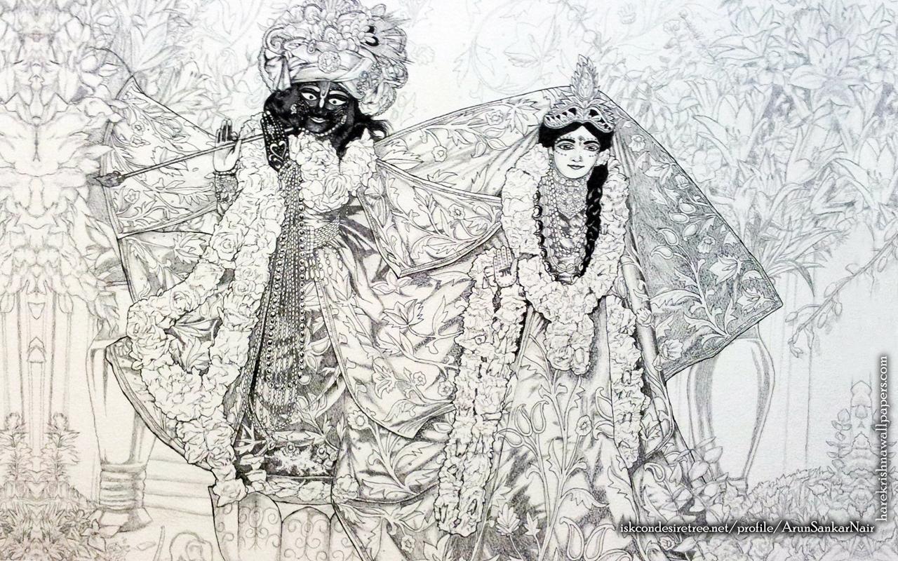 Radha Krishna Wallpaper (024) Size 1280x800 Download
