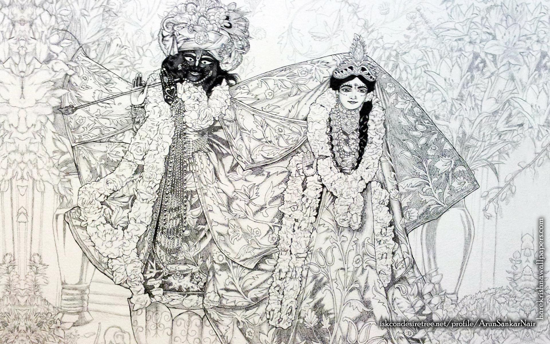 Radha Krishna Wallpaper (024) Size 1920x1200 Download