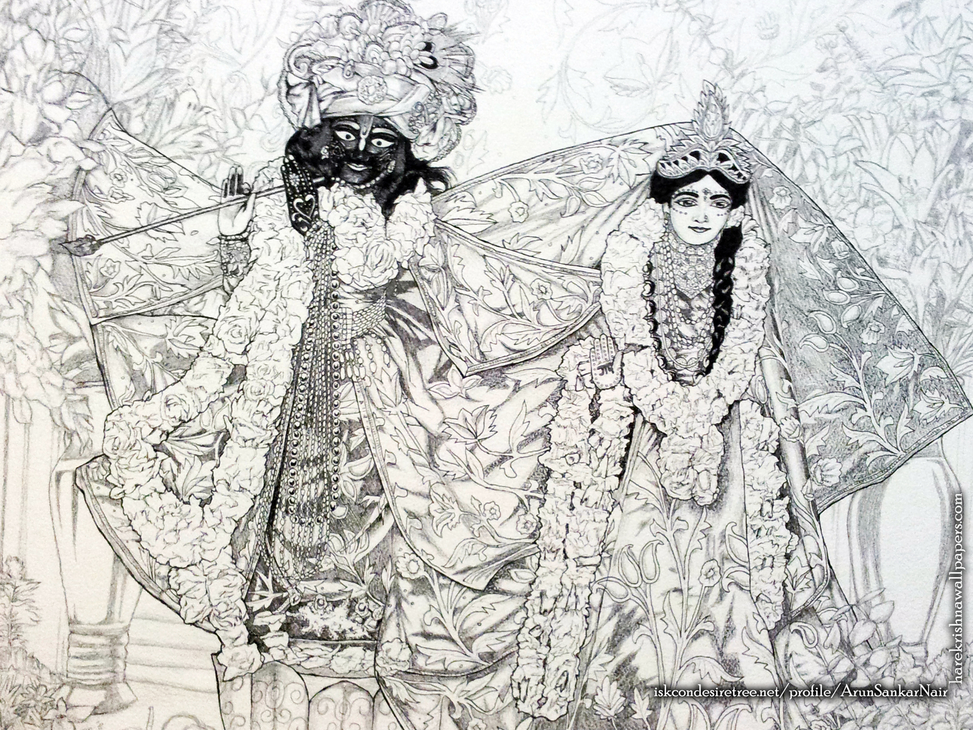 Radha Krishna Wallpaper (024) Size 1920x1440 Download