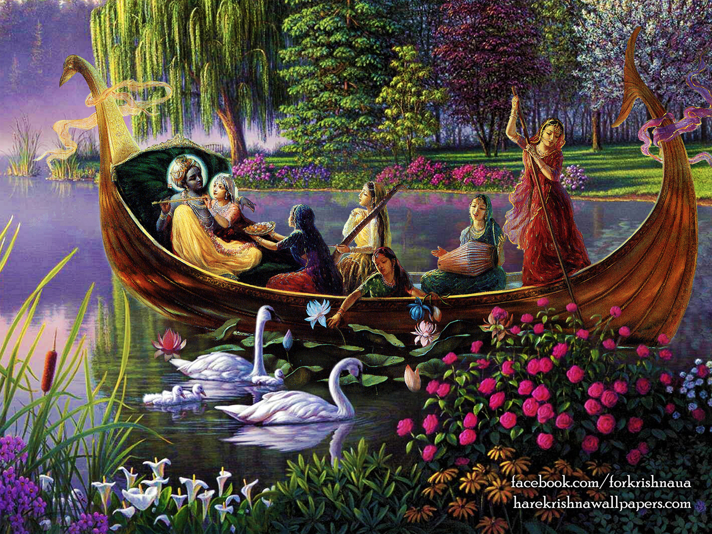 Radha Krishna Wallpaper (025) Size 1400x1050 Download