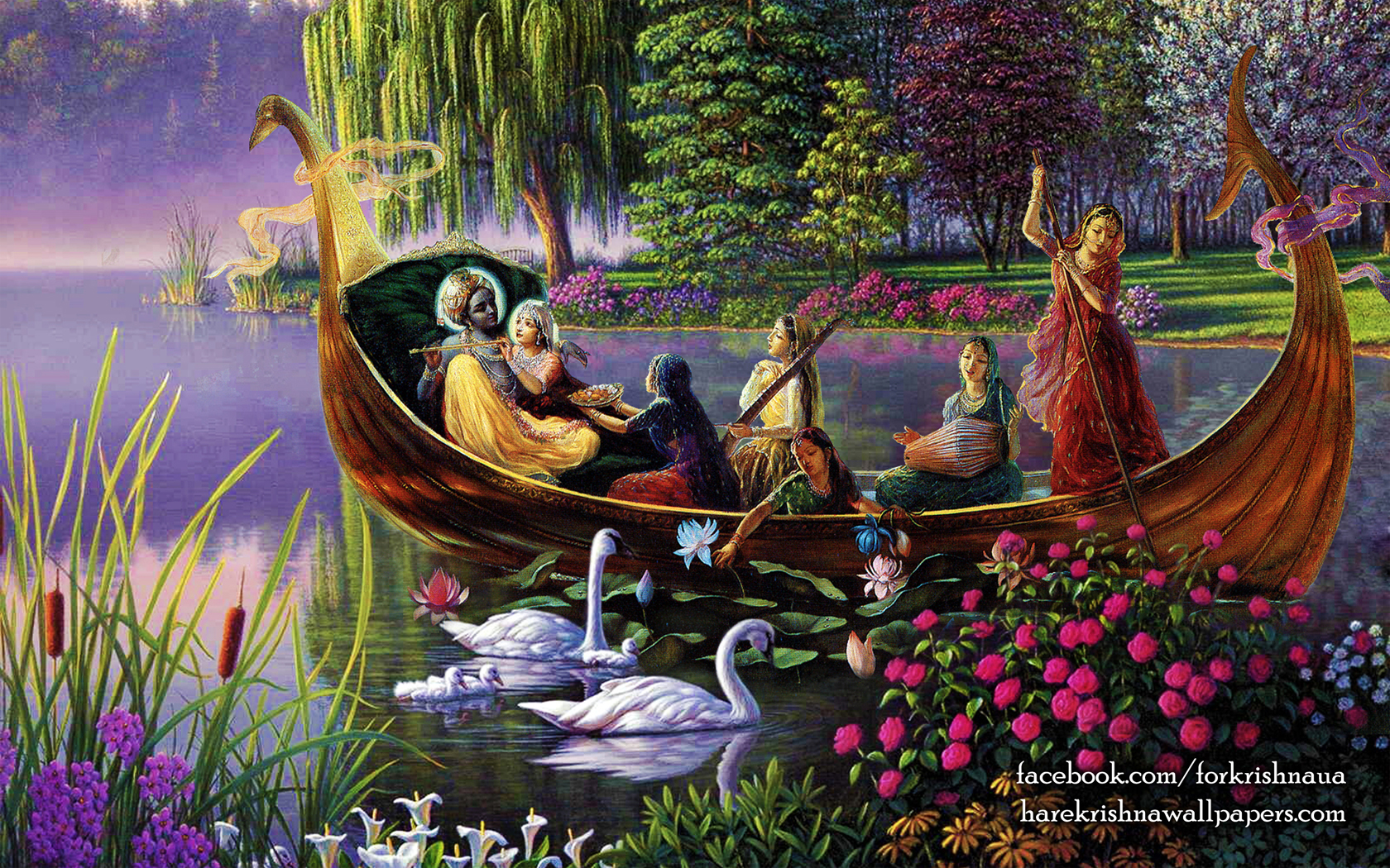 Radha Krishna Wallpaper (025) Size 1680x1050 Download