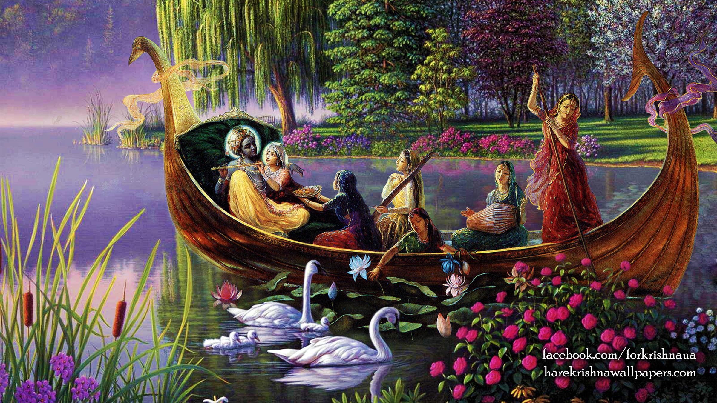 Radha Krishna Wallpaper (025) Size 2400x1350 Download