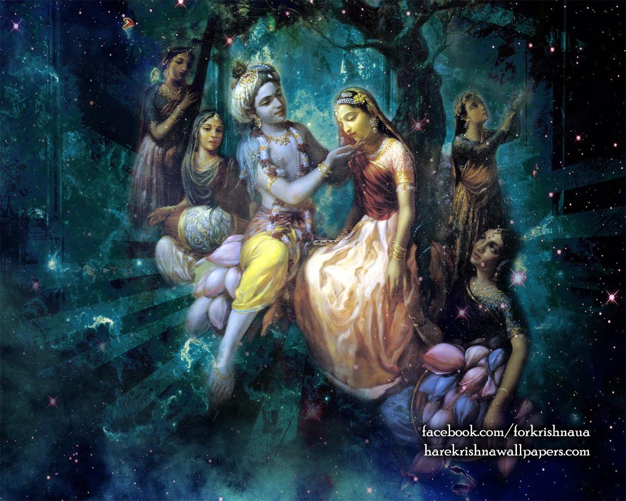 Radha Krishna Wallpaper (026) Size 1280x1024 Download