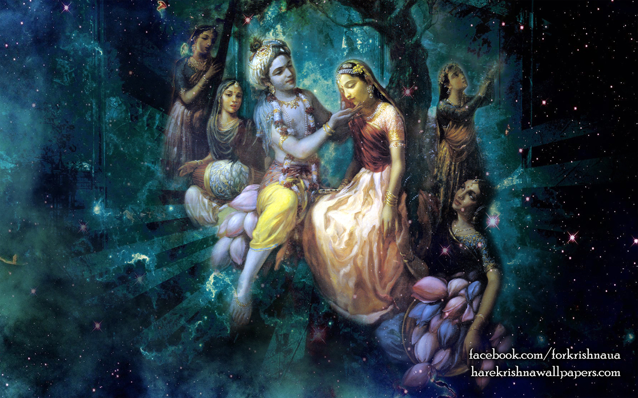 Radha Krishna Wallpaper (026) Size 1280x800 Download