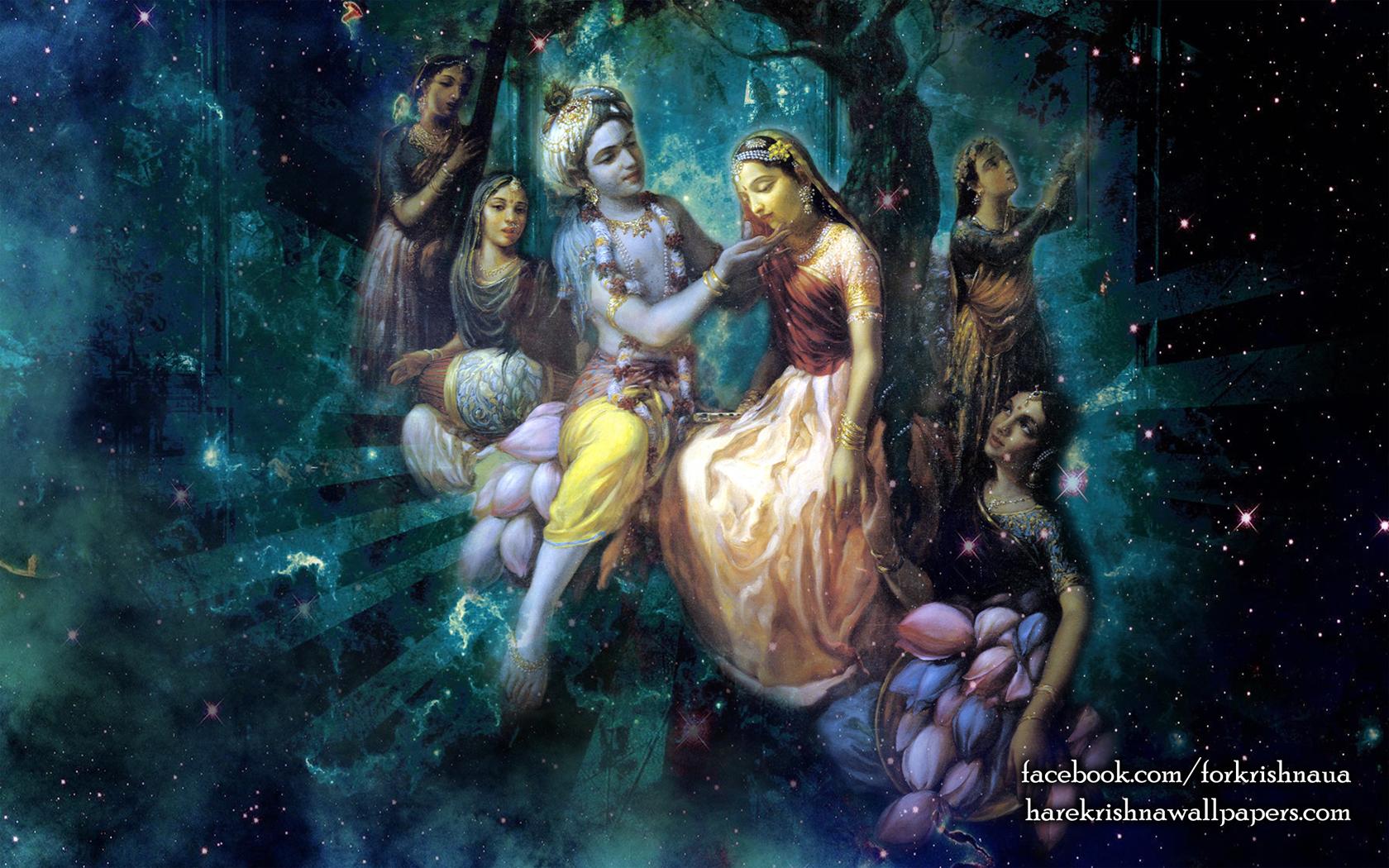 Radha Krishna Wallpaper (026) Size 1680x1050 Download