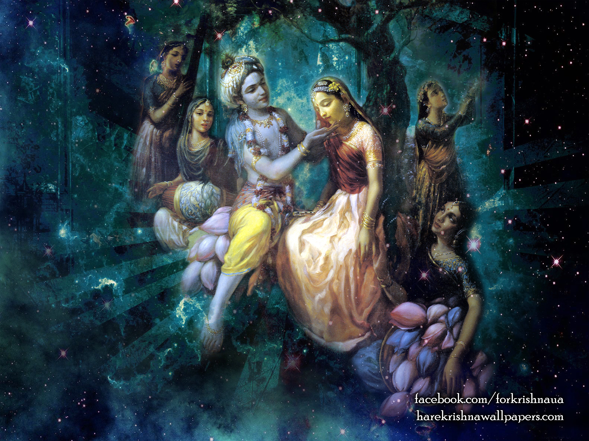 Radha Krishna Wallpaper (026) Size 2400x1800 Download