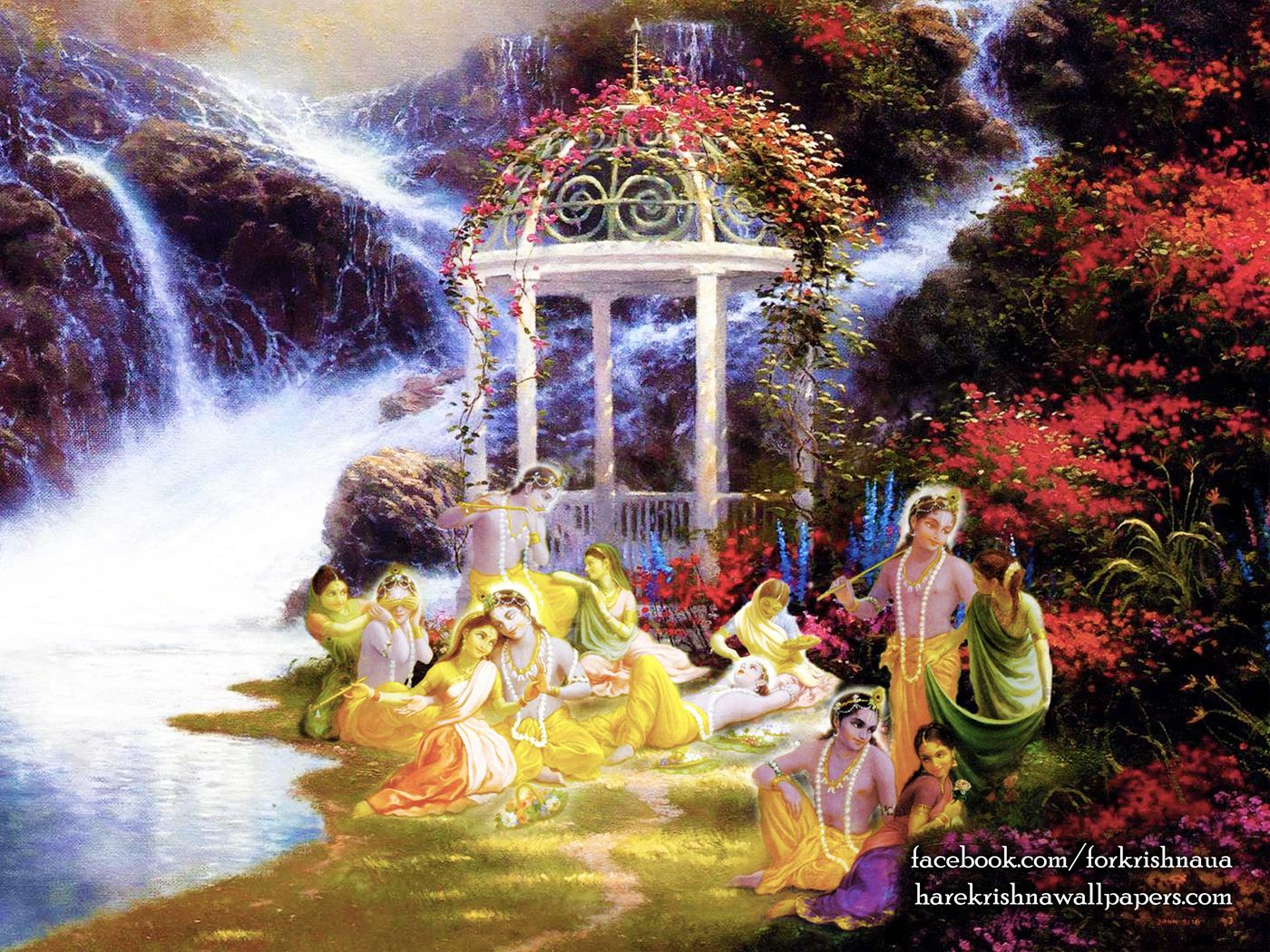 Radha Krishna Wallpaper (027) Size 1400x1050 Download