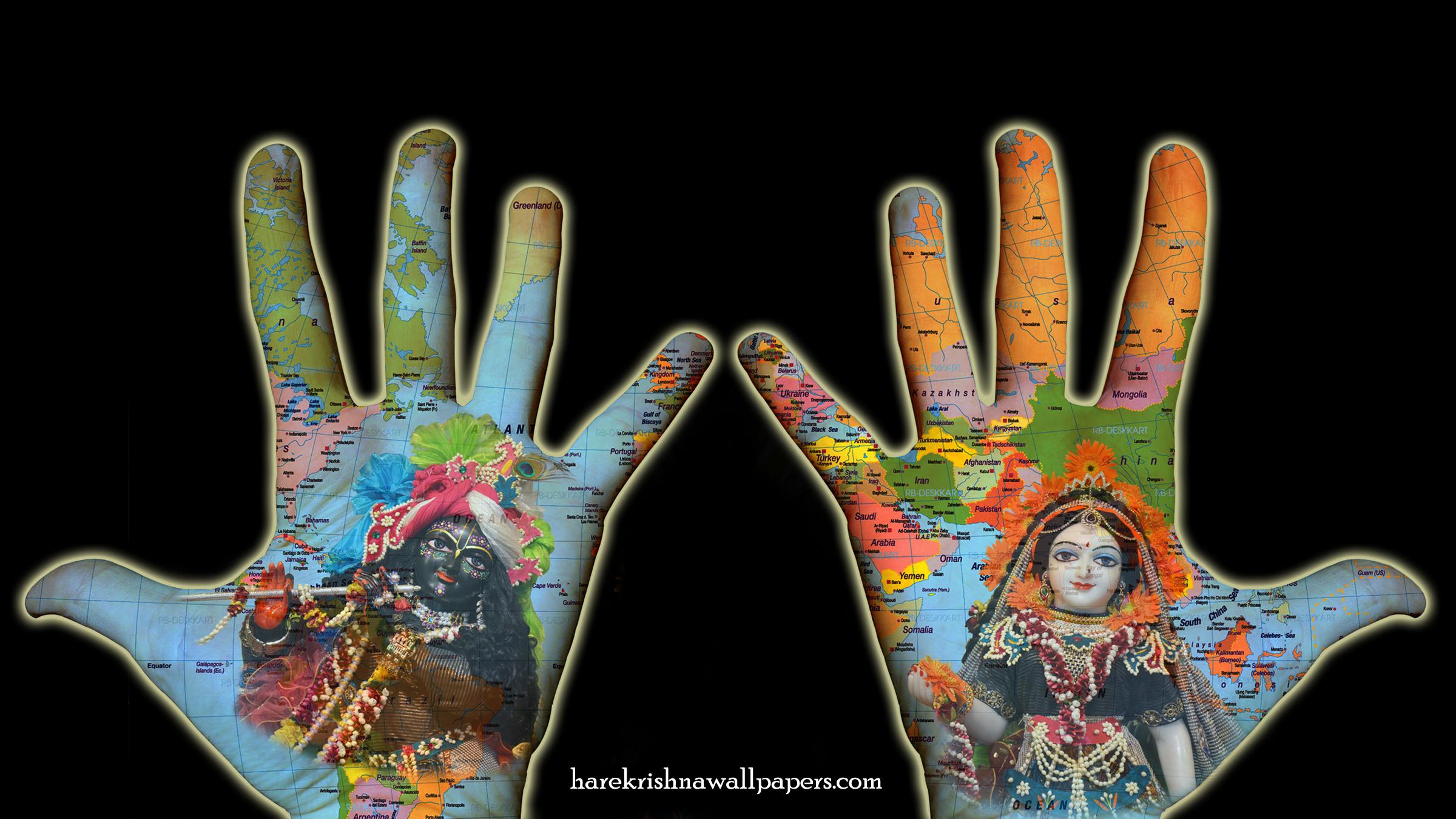 Radha Krishna Wallpaper (028) Size 2400x1350 Download